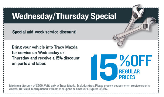 Wednesday/Thursday Special Coupon