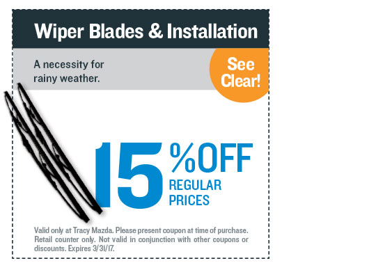 Wiper Blades & Installation Coupon