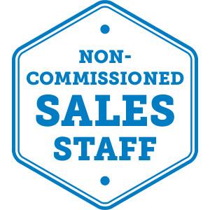 Non-Commissioned Sales Staff