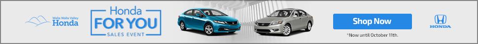 Honda Sales Event Banner