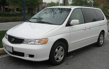 Second Generation - 2002-2004 Honda Odyssey