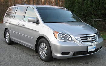 Third Generation - 2010 Honda Odyssey