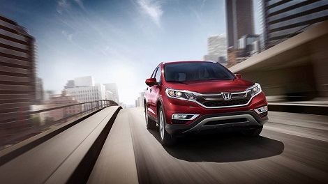 2016 Honda CR-V Red