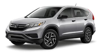 2016 Honda CR-V SE Silver (Custom)