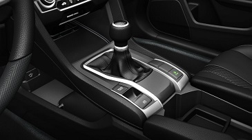 2016 Honda Civic Coupe 6-Speed