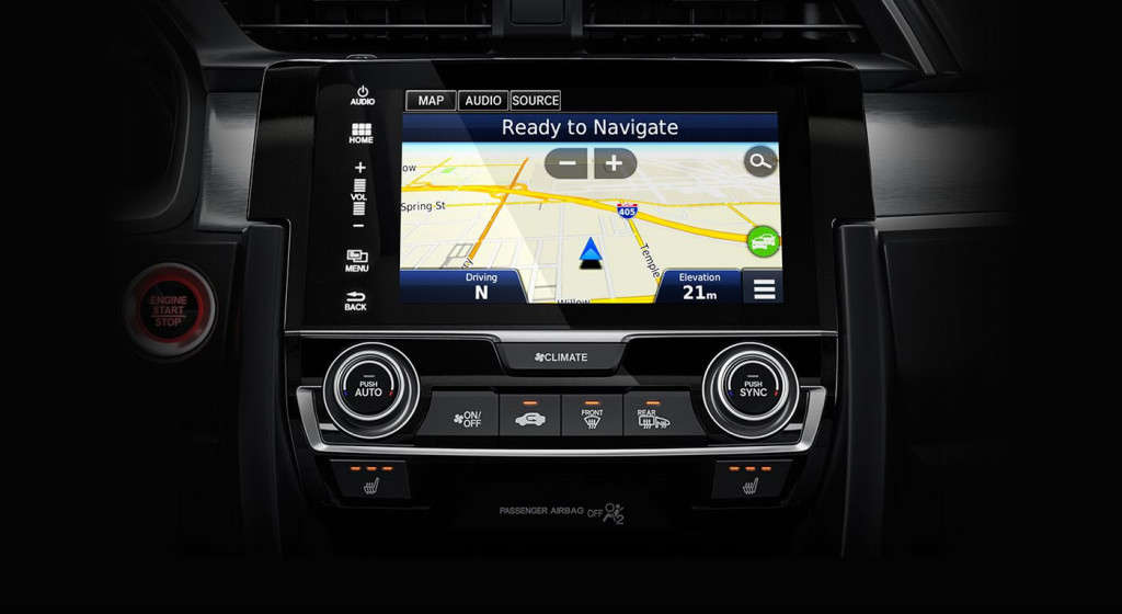 2016 Honda Civic Coupe Navigation