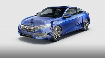 2016 Honda Civic Coupe Suspension
